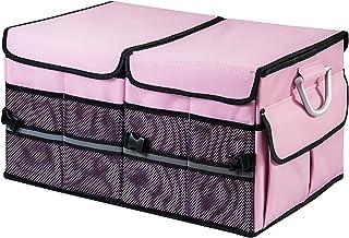 TurboBoost Car Organizer - Storage Bag,car Trunk Organiser,Durable Storage SUV Cargo Organiser Adjustable, Tidy Organizati...