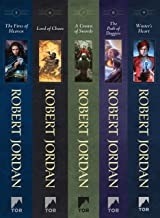The Wheel of Time, Books 5-9: (The Fires of Heaven, Lord of Chaos, A Crown of Swords, The Path of Daggers, Winter's Heart)