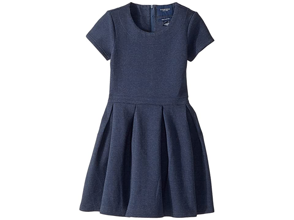 Toobydoo The Fashionista Party Dress (Toddler/Little Kids/Big Kids) (Navy) Girl