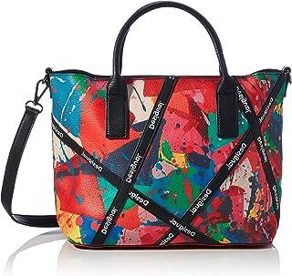 Desigual Accessories PU Hand Bag, Mano Mujer, rojo, U