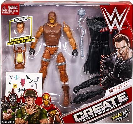 Create a WWE Superstar Dean Ambrose Pack