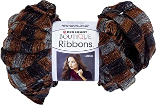 Red Heart Boutique Ribbons Yarn, Marble