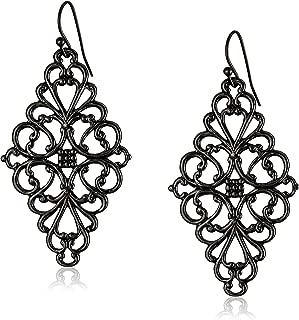 Best black filigree earrings Reviews