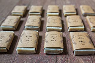 Soap Favors Personalized for Wedding or Shower