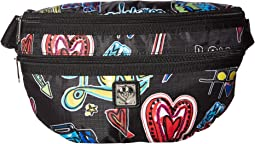 Love Scribble Sightseer Belt Bag