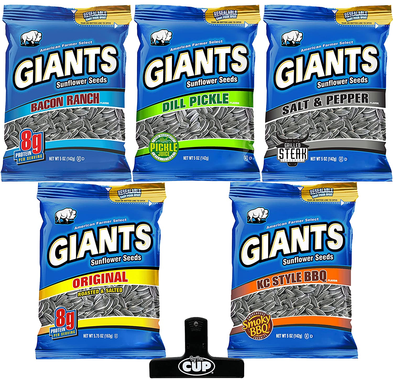 Giants Sunflower Boston Mall 1 year warranty Seeds 5 Flavor Variety 1 of each Pack