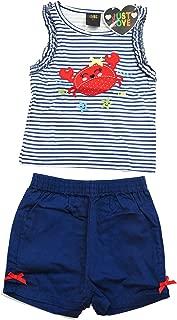 Just Love - Juego de Pantalones Cortos de Verano para niñas con Apliques (2 Unidades)