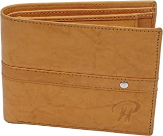 Men Leather Wallet Card Case Special Slots for Cards And Coins Made Of Genuine Leather For Tough Use. (Style 2)