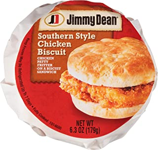 Jimmy Dean Southern Style Chicken Biscuit Sandwich, 6.3 oz., 12 per case