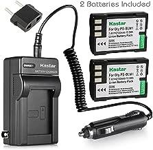 Kastar Battery (2-Pack) and Charger Kit for Olympus BLM-1, BLM-01, PS-BLM1 work for Olympus C-5060, C-7070, C-8080, E-1, E-3, E-30, E-520, EVOLT E-300, E-330, E-500, E-510 Cameras