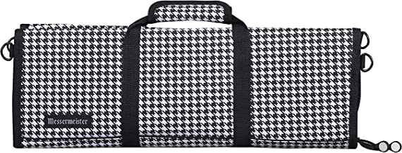 Messermeister Chef Knife Luggage, 12-Pocket, Houndstooth, 77949