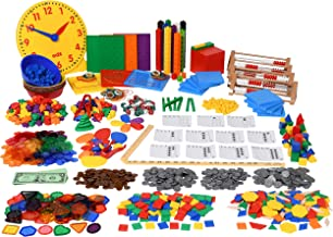 Edx Education Classroom Math Kit - For Grades 1 and 2 - Teach Early Math - Includes 22 Versatile Teaching Resources and Manipulatives