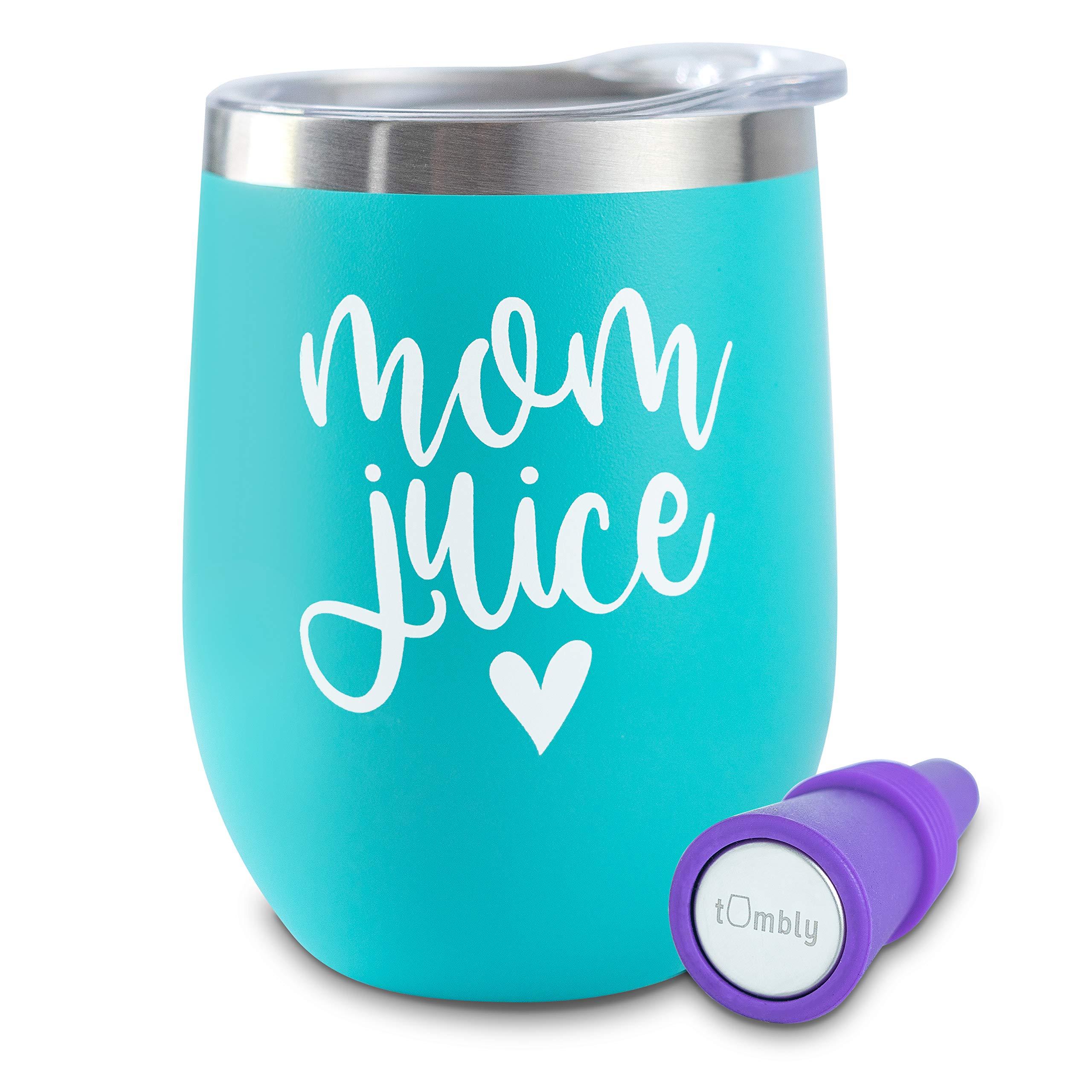 Mommin/' ain/'t easy 12 oz wine tumbler stainless steel insulated