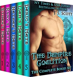 The Vampire Coalition: The Complete Collection Boxed Set (Ethan's Mate, Rory's Mate, Nathan's Mate, Liam's Mate, Daric's Mate)