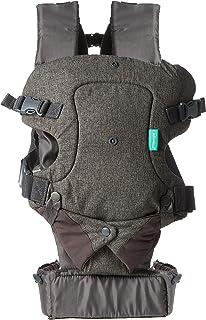 Infantino Flip Advanced 4-in-1 babydrager, 61 tot 124,5 cm, Grijs