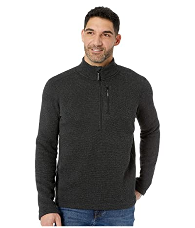 Smartwool Hudson Trail Fleece 1/2 Zip Sweater (Dark Charcoal) Men