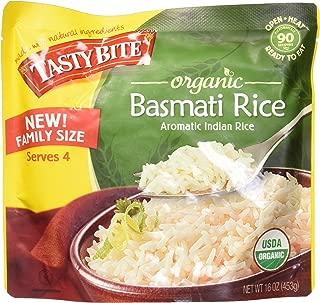 Tasty Bite Organic Basmati Rice Family Size, 16 Ounce