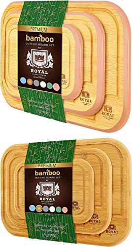 new arrival Rounded sale Cutting Board Set of 3 (Pink) and Rounded Cutting new arrival Board Set of 3 outlet online sale
