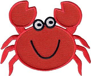 PatchMommy PatchMommy Krabbe Patch Aufnäher Applikation Bügelbild - zum Aufbügeln oder Aufnähen - für Kinder/Baby