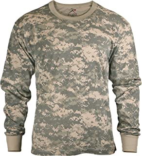 Kids Camouflage T-Shirt - Long Sleeve, ACU Digital Camo, Medium by Rothco