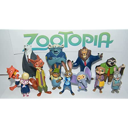 Zootopia Animal Stickers Children Kids Party Bag Fillers,Gifts Crafts