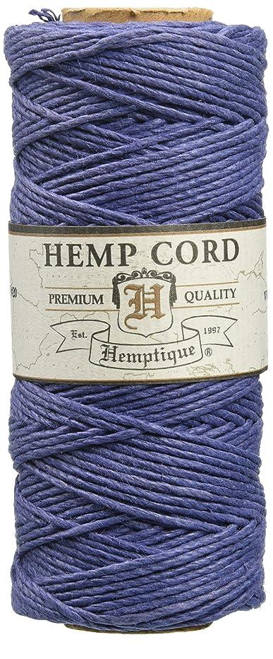 Hemptique 5070812 Hemp Cord Spool, 10 lb, Blue