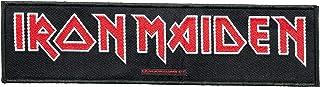 Unbekannt Iron Maiden parche–Logo–Iron Maiden Patch–Stripe tejida & licencia oficial.