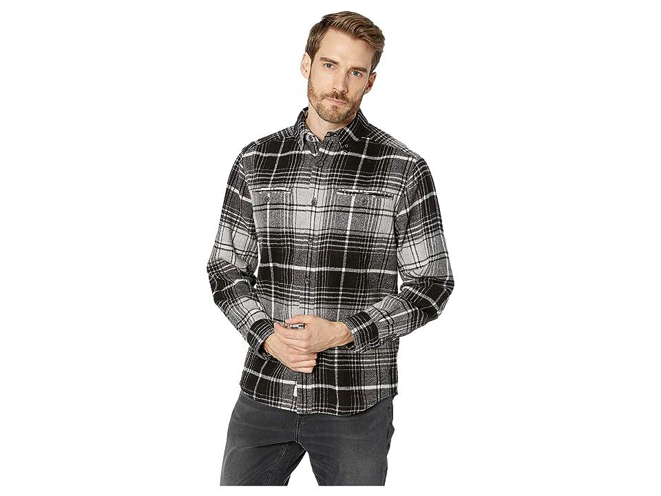 Woolrich Eco Rich Twisted Oxbow Shirt (Black Twist) Men