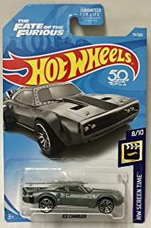 Hot Wheels 2018 50th Anniversary HW Screen Time The Fate Of The Furious Ice Charger 79/365, Gray