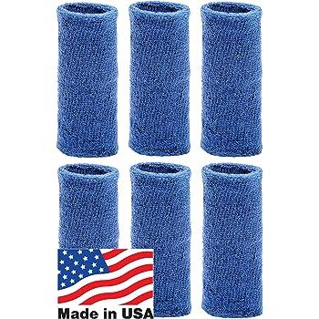 Unique Sports 6-Inch Long Wrist Towel Wristbands (6 Pack)