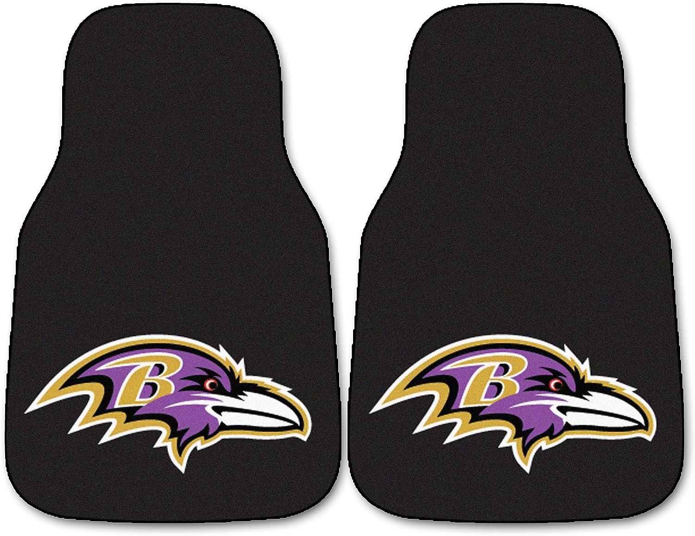 FANMATS - Superior 5675 NFL Baltimore Ravens Car Carpet excellence bl Mat Nylon Face