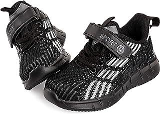 Vunavueya Baskets Mode Enfant Sports Chaussure de Course Garçon Chaussure de Tennis Fille Fashion Running Sneakers Basses ...