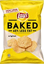 Ruffles Oven Baked Cheddar & Sour Cream Flavored Potato Crisps