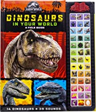 Jurassic World - Dinosaurs in Your World Field Guide - 39 Button Sound Book - PI Kids