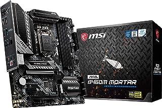 لوحة ام اس اي MAG B460M موتار للألعاب (mATX، الجيل العاشر انتل كور LGA 1200 مقبس DDR4 ، CFX ، فتحات M.2 ، USB 3.2 الجيل 1،...
