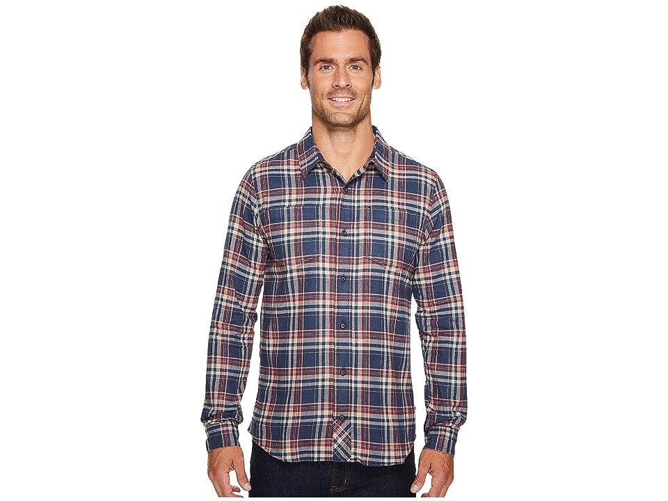 Toad&Co Flannagan Long Sleeve Shirt (Deep Navy) Men