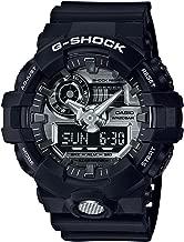 Casio GA710-1A G-Shock Standard Analog-Digital Men's Watch (Black/Silver)