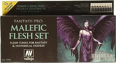 Vallejo 74102 Malefic Flesh Set 8 Colour Set