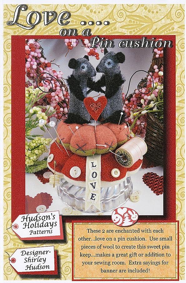 Hudson's Holiday Designs Love.On A Pincushion