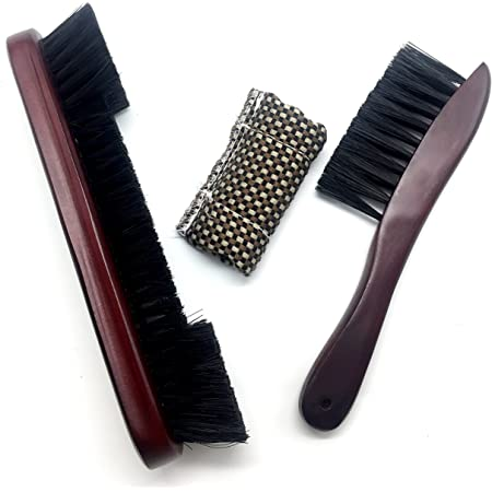 Now with Solid Wood Premium Quality Wooden Handle for Pool and Snooker 12 Big Billiards Brush with Natural Horsehair Almost no Shedding