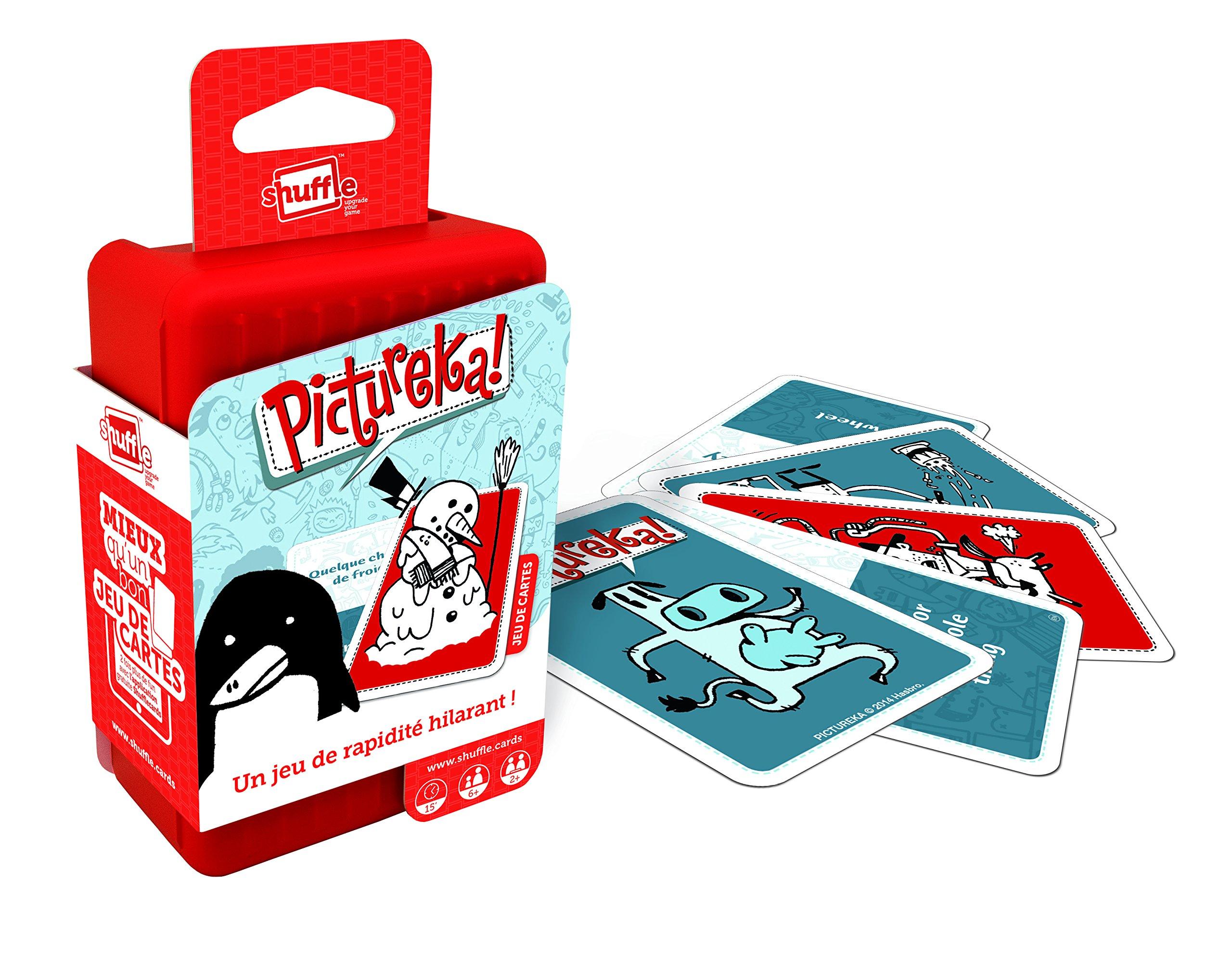 Cartamundi 100203034 - Baraja de Cartas Shuffle, Modelo: Pictureka: Amazon.es: Juguetes y juegos