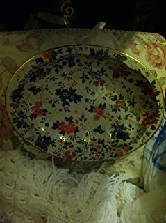 Vintage Metal Oval Bowl/tray Daher Decorated Ware Designed by Daher Long Island N.Y. 11101 Made in England