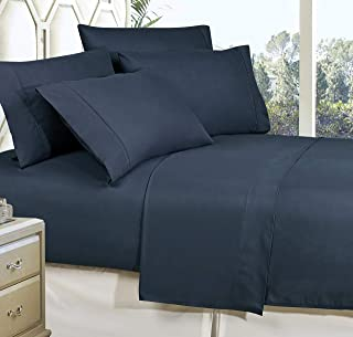 Wrinkle Resistant Luxury 4-Piece Bed Sheet Set - 1500 Thread Count Egyptian Quality Silky Soft Best Seller Sheet Set- Twin...