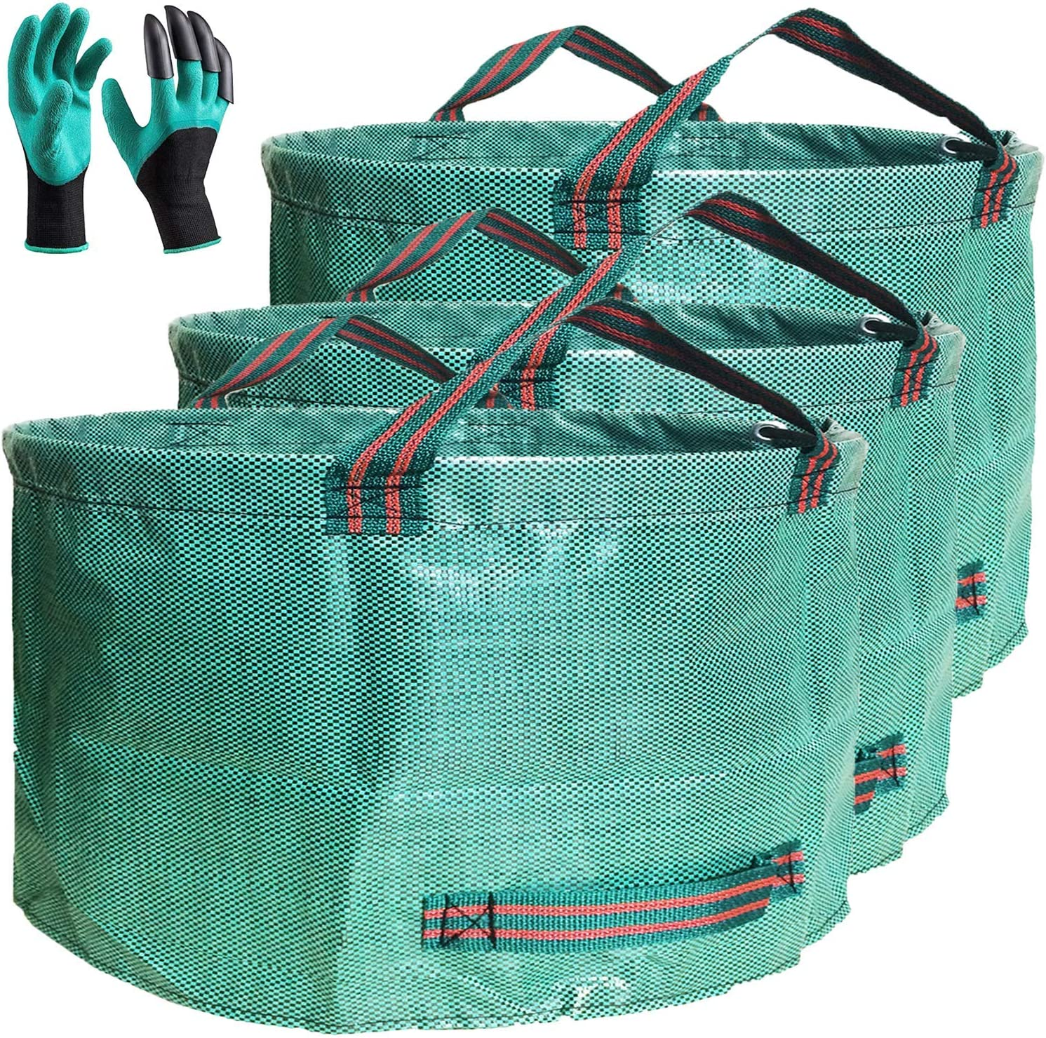 SALENEW very popular New color Standard 3-Pack 46 Gallon Patio Yard Bags Garden D26 H19 inch