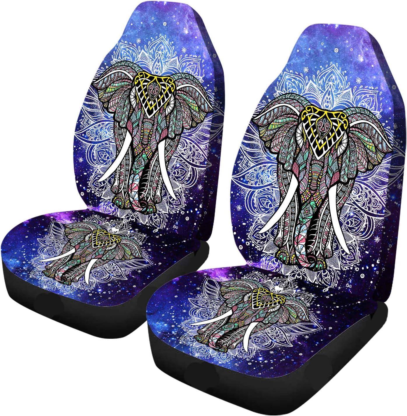 Car Seat Covers Colorful Ranking TOP18 Elephant Bohemia Galaxy Cheap SALE Start Geometric Manda