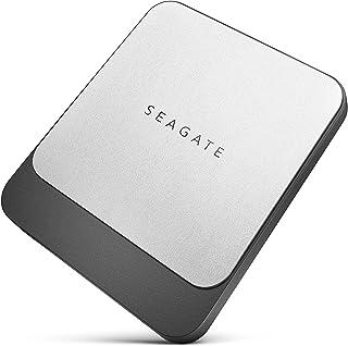 Seagate FAST SSD 2TB 大容量 外付 ポータブル 3年保証 黒 フォルダ同期ソフトウェア付 PS4 PC Mac USB 3.0 Type C&A 両対応 安心サポート正規代理店品
