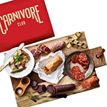 Carnivore Club Gift Box (Gourmet Food Gift) 5 Italian Meats Sampler From Nduja Artisans - Comes in a Premium Gift Box - Fo...