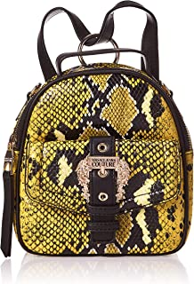 Versace Jeans Couture Womens Pitone Buckle Backpack