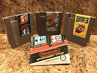 Super Mario Bros/Duck Hunt, Super Mario 2, and Super Mario 3 NES Bundle