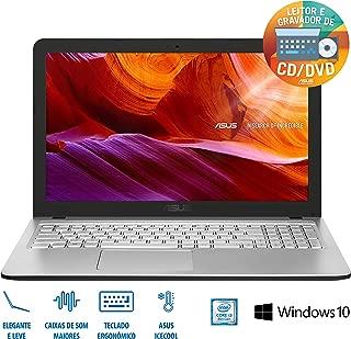 "Notebook Asus VivobookX543UA-GO2195T Intel Core I3 4GB 1TB 15, 6"" Windows 10 - Prata, ASUS, X543UA-GO2195T, CORE I3, 4 GB RAM, HD HD 1000(GB) GB, LED, Tela"", windows_10"